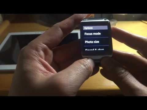 Samsung Galaxy Gear SM-V700 Smartwatch test 1