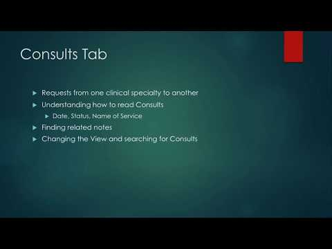 Intro to CPRS For Nursing Students 15: Notes Tab - Writing a Note