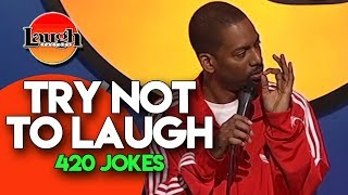 Download Try Not To Laugh | 420 Jokes | Laugh Factory Stand Up Comedy Video