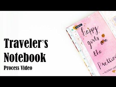 STARTING MY 2018 TRAVELERS NOTEBOOK