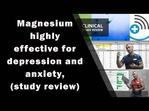 Magnesium highly effective for depression and anxiety, study review
