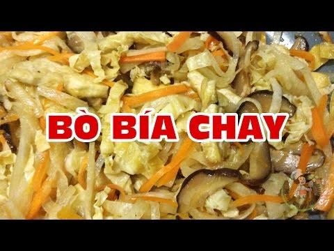 Món Chay Gia Đình - Bò Bía Chay