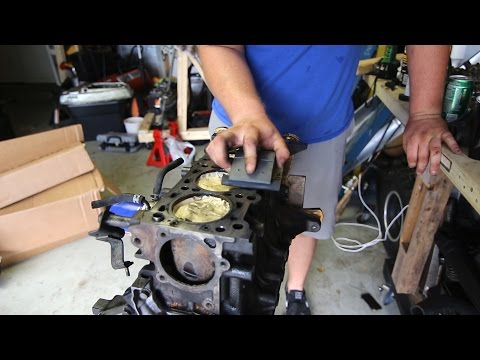 Sanding my block!? Miata build motor prep