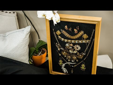 How To - Ken Wingards DIY Jewelry Frame - Hallmark Channel