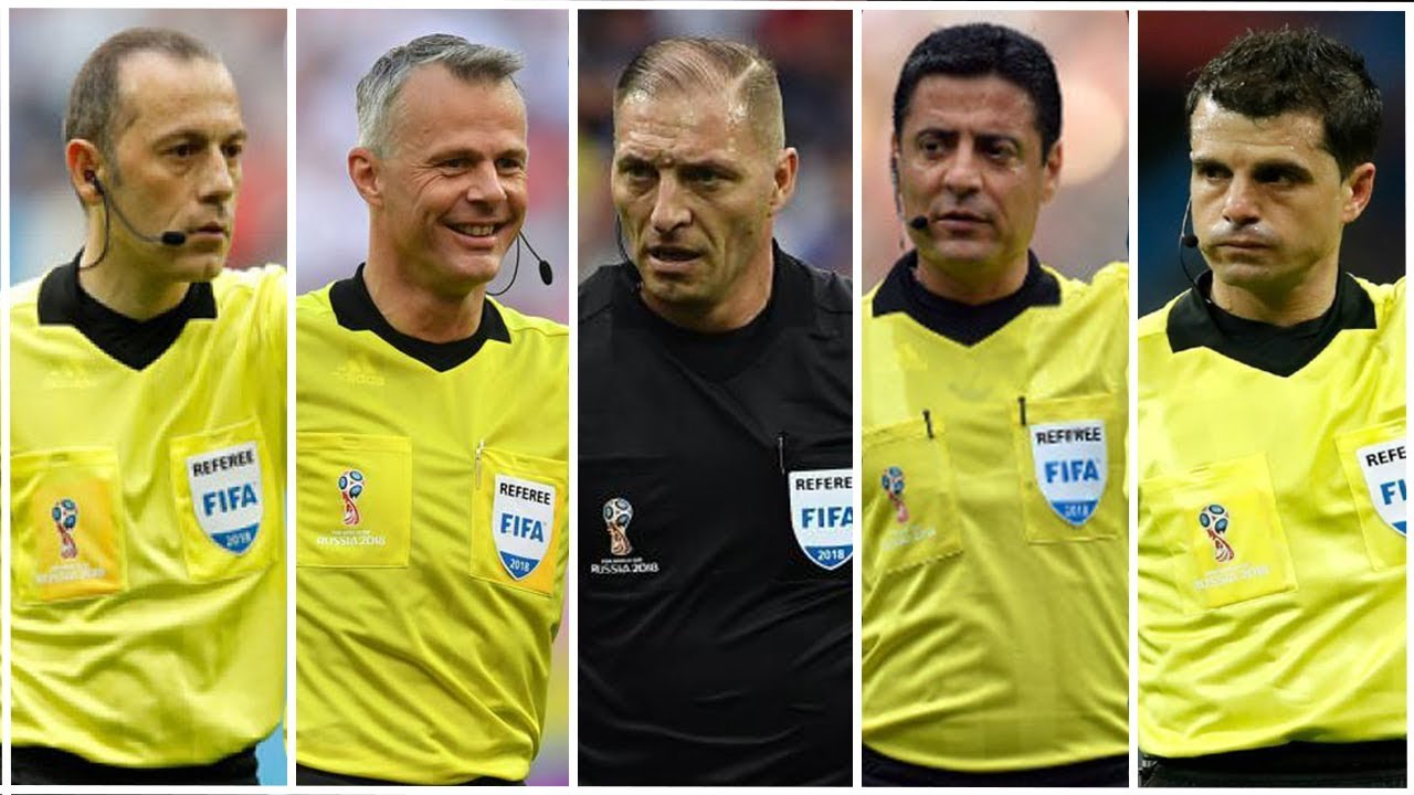 Top 10 Referes FIFA World Cup Russia 2018