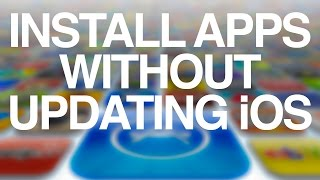 How To Install Apps Without Updating Ios Ipad 1 Iphone 4 Iphone 3gs I