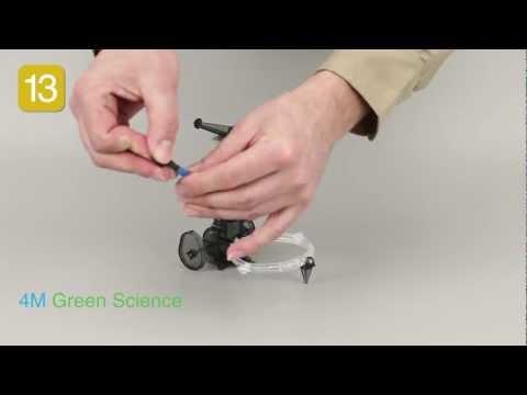 4M Green Science Tin Can Robot Assembling Instruction