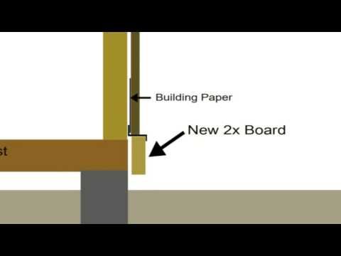 How To Use 2 x 10 to Replace Bottom of Damaged Siding