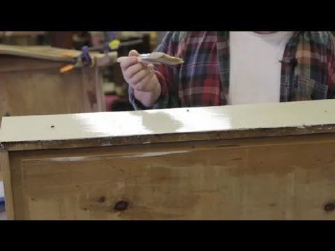 Scratch-Resistant Top Coat for Painted Wood Furniture : Furniture Repair & Refinishing