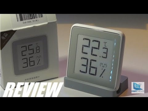 REVIEW: Xiaomi E-Ink Thermometer Hygrometer Gadget?!