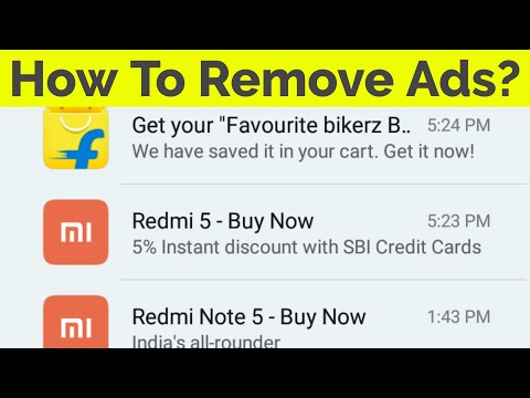 How To Remove Pop Up Ads From Your Android Phone Without Root & Turn Off App Notifications-2018