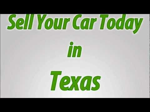Sell A Car in Texas