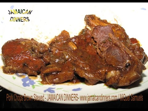 PORK CHOPS, SHOULDER OR LEG brown stewed with herbs Recipe