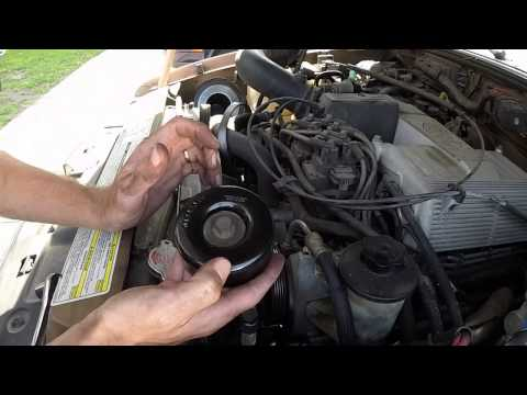 Idler Pulley Replacement - 97 Ford Explorer