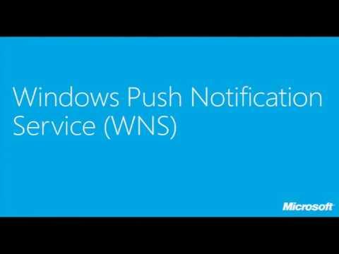 TechDays 2012 Belgium Sending Push Notifications using the Windows Push Notification Service and Win