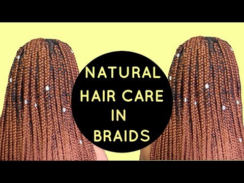 GROW YOUR NATURAL HAIR IN BRAIDS (MOISTURE RETENTION)