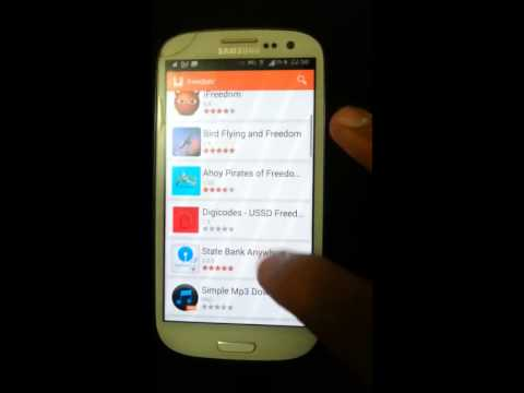 How to get the app freedom ROOT ANDROID