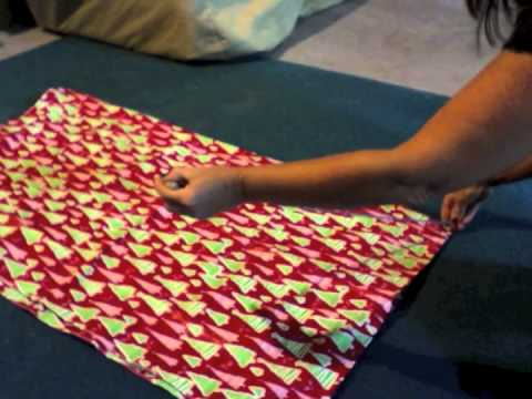 How to Make A Round Fitted Vinyl Tablecloth