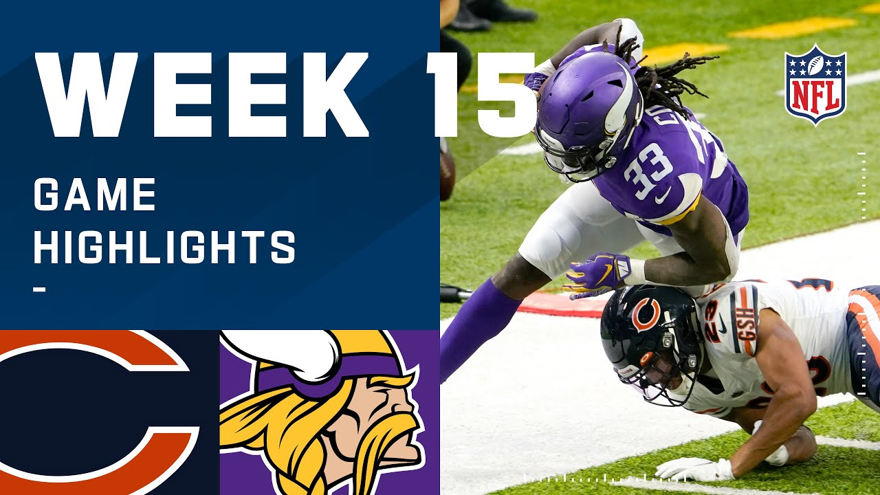 Bears vs. Vikings Week 15 Highlights | NFL 2020