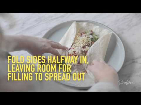PureWow Presents: How to Roll a Wrap