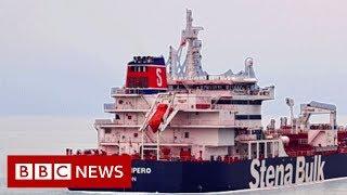 Download Iran tanker seizure: Radio exchanges reveal Iran-UK confrontation - BBC News Video