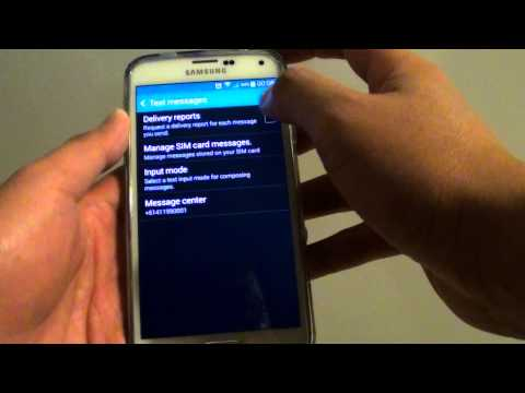 Samsung Galaxy S5: How to Enable/Disable Text Messages Delivery Report