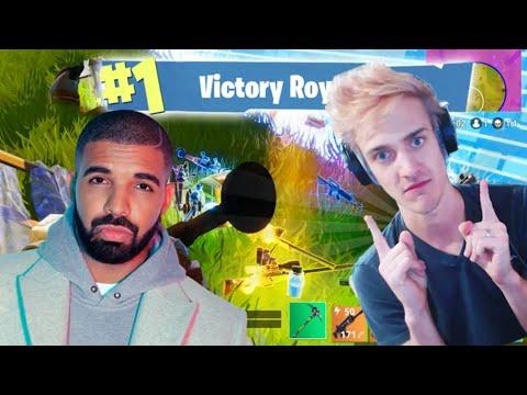 Drake And Ninja Play Fortnite With Travis Scott And Faze Juju My thoughts.
