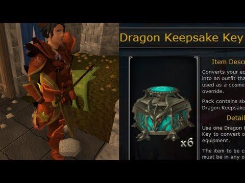 Dragon Keepsake Key - Complete Information