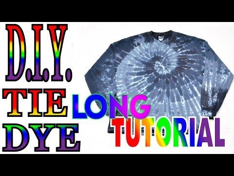 Black Dilution Spiral Pocket Long sleeve shirt [Long Tutorial] #49