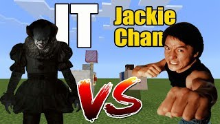 IT vs Jackie Chan | Minecraft PE