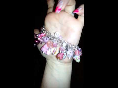 My chunky charm bracelet for Christy