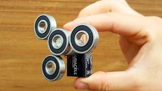 Fidget Spinner from Electric Motors