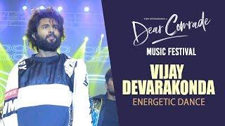 Vijay Devarakonda Energetic Dance Performance @ Dear Comrade Music Festival