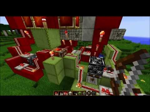 Minecraft 1.7.4, Luftschleuse, airlock