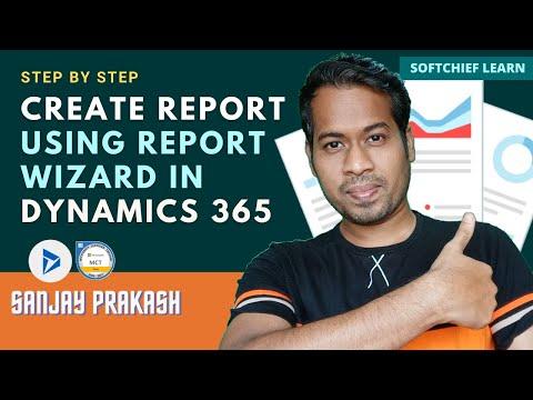 Create a Report in Dynamics 365