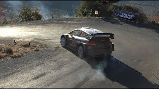 DAY 4 | COL DE BRAUS | WRC RALLY MONTE CARLO 2018 [HD] BEST RALLYES 06