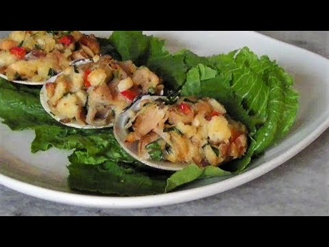 Stuffed Clams aka. Cherrystone Stuffies