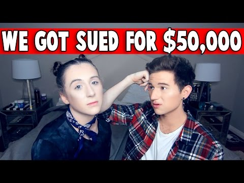 WE GOT SUED FOR $50,000 *NOT CLICKBAIT*