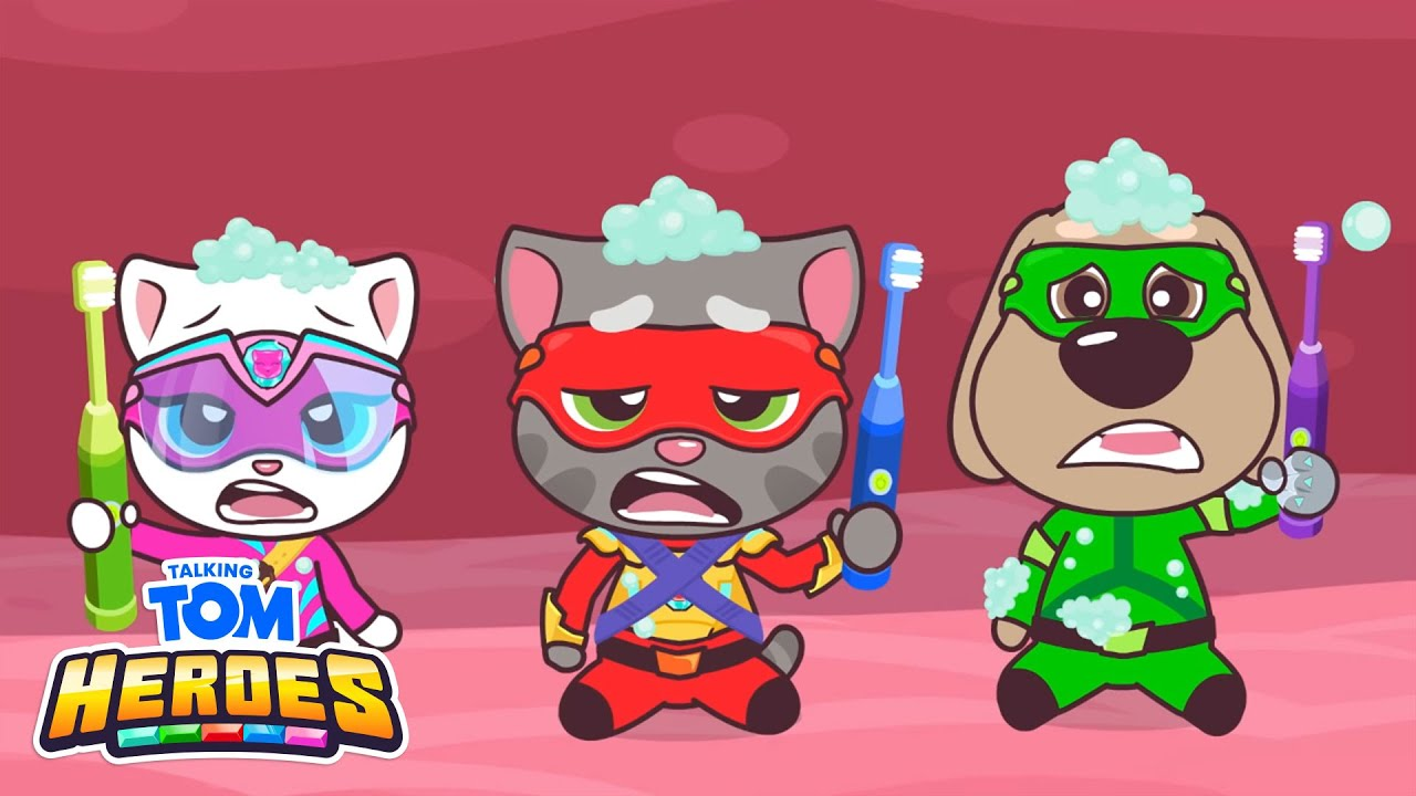Talking Tom Heroes - Mission Toothache! (Episode 22)