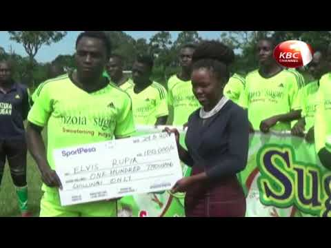 Elvis Rupia is the SJAK player of the month