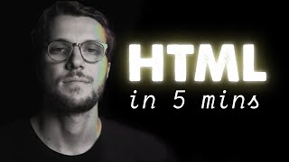 HTML explained in 5 minutes