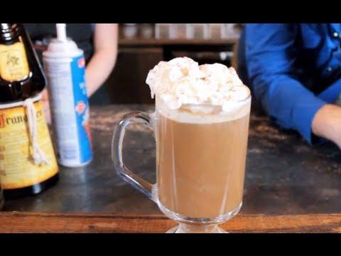 Tiramisu Specialty Coffee - Coffee Recipe Using Frangelico & Baileys Irish Cream