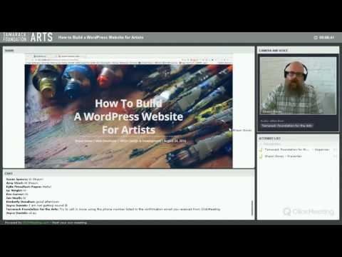 How to Build a WordPress Website for Artists