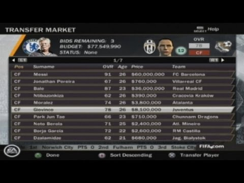 FIFA 14 PS2 Manager Mode with Commentary HD