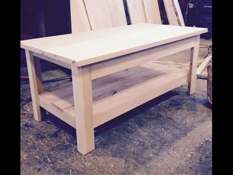 A EASY METHOD FOR RUSTIC FURNITURE CONSTRUCTION