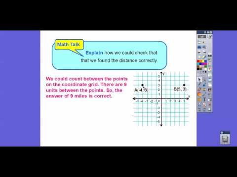 Distance on the Coordinate Plane - Lesson 3.9