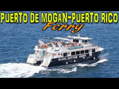 Ferry from Puerto de Mogan to Puerto Rico - Gran Canaria 4K