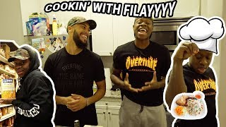 FILAYYYY Went COOKING With Overtime Larry! Viral Star Talks About Filayyyy vs JELLY 🍇