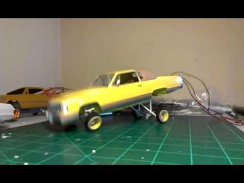 Caddi lowrider model car a arm hopper