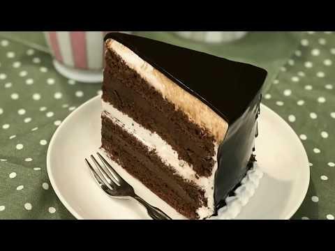 香浓巧克力奶油蛋糕 Dark and White Chocolate Cake
